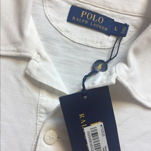 White Ralph Lauren Polo